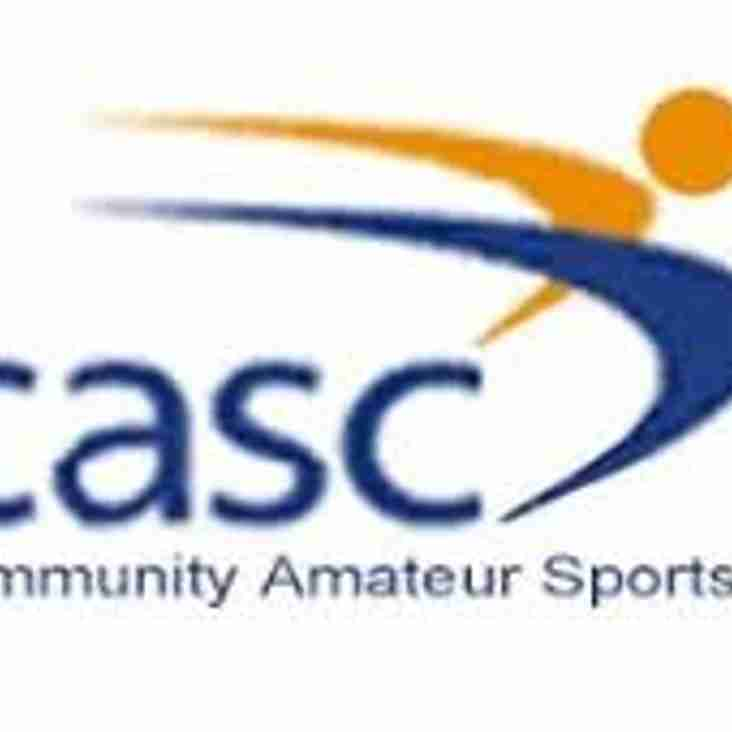 Our Joint Venture, the Orrell & Winstanley Community Sports Club is now a registered CASC
