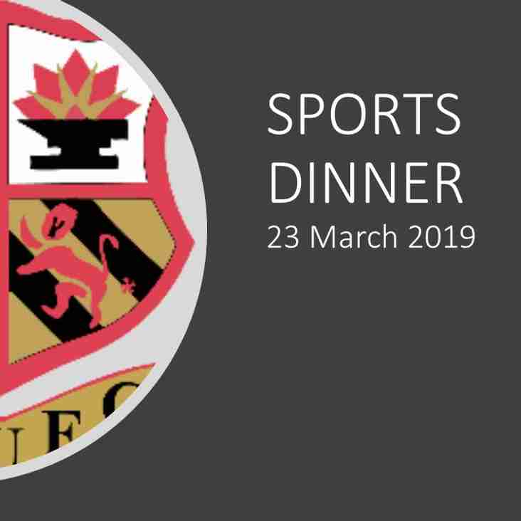 No outtakes we hope for our next great fundraising event - the famous (infamous) Orrell RUFC Sports Dinner