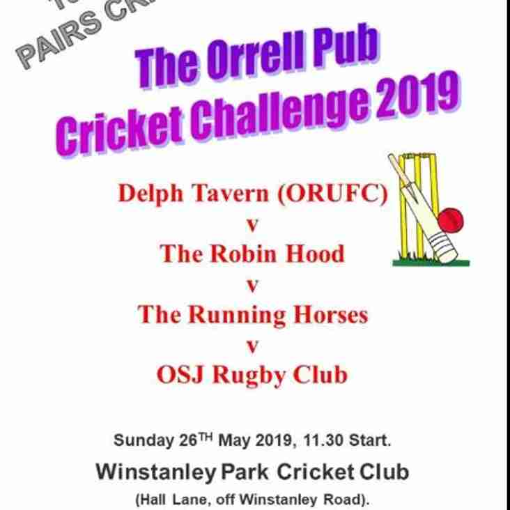 Cricket Anyone .... well pub cricket anyway