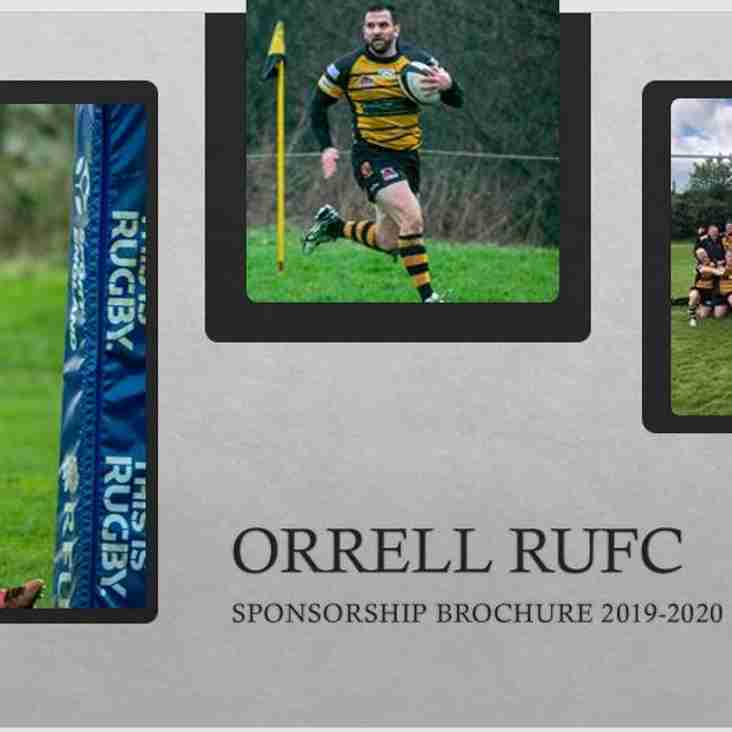 Not long to the start of the new rugby season ...... check out our new and updated sponsorship opportunities