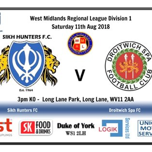 Sikh Hunters 0-4 Droitwich Spa
