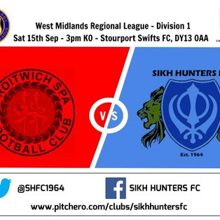 Droitwich Spa 4-0 Sikh Hunters