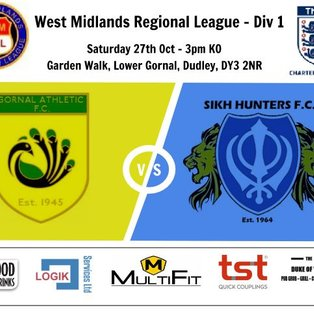 Gornal Athletic 0-8 Sikh Hunters