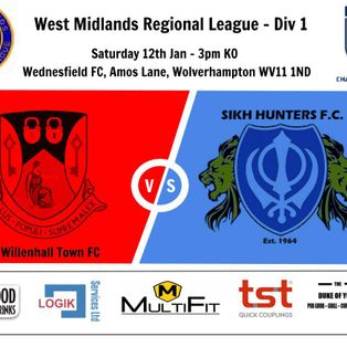 Willenhall Town 1-2 Sikh Hunters