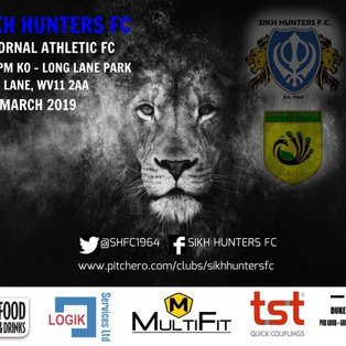 Sikh Hunters 1-0 Gornal Athletic