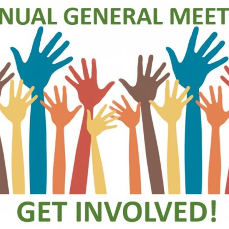 Annual General Meeting (AGM) 24.6.19 @ 7pm