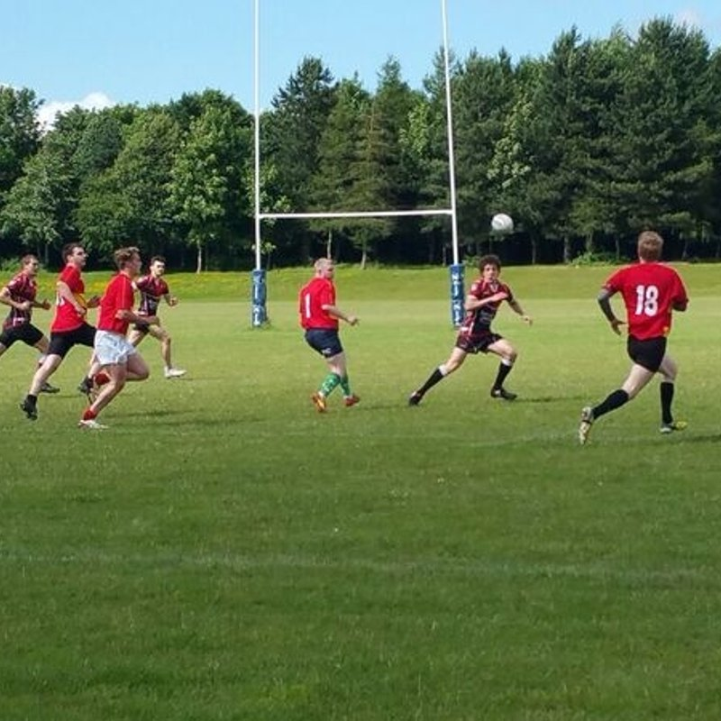 Raiders Put Up Strong Fight in First 13-a-Side Game