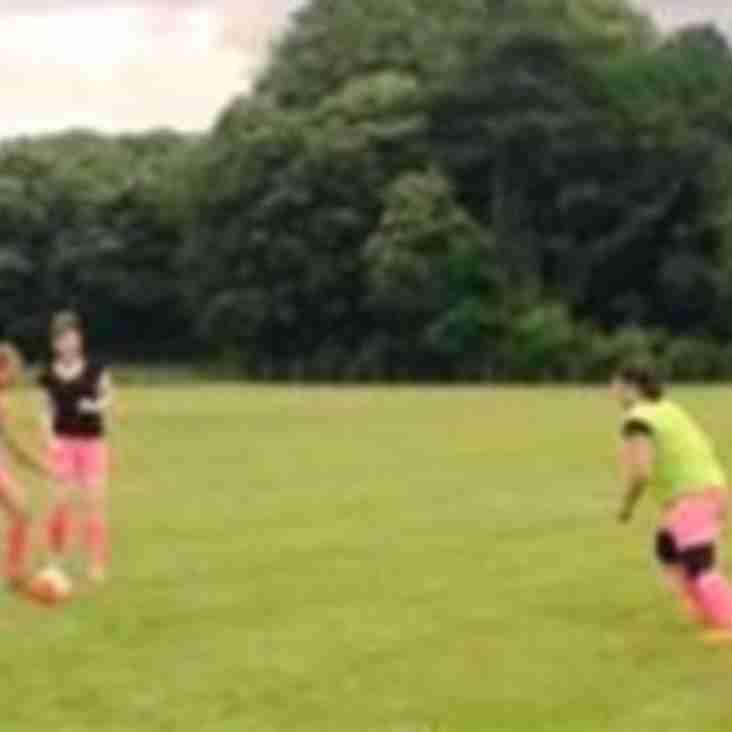 Mums Football Training