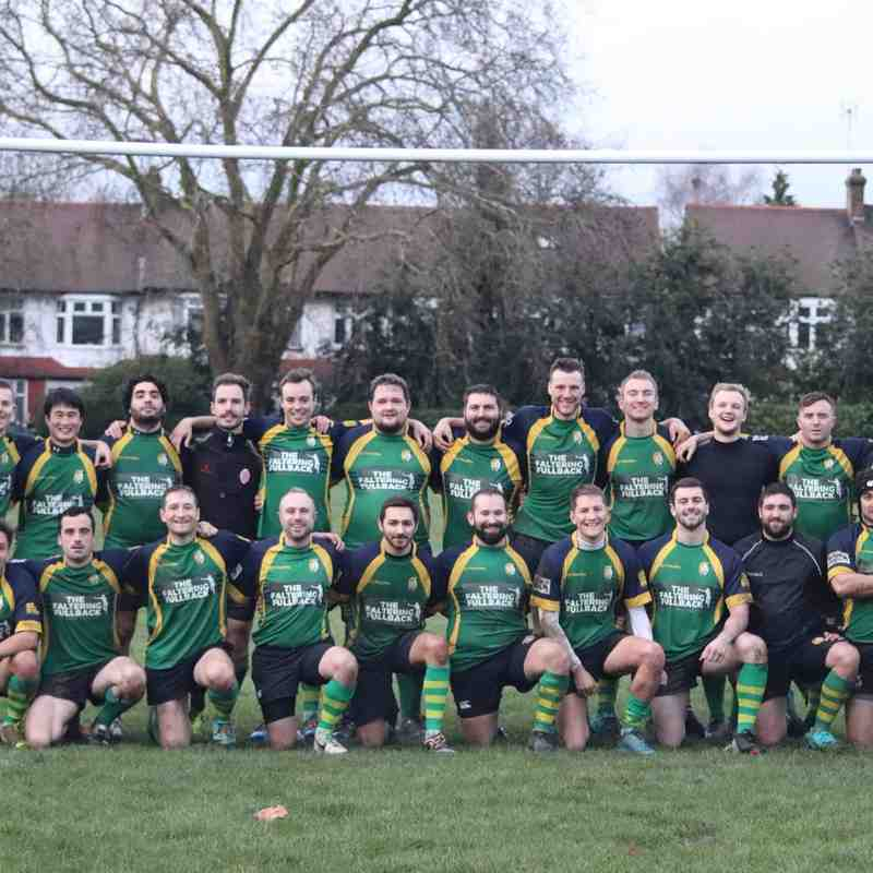 Finsbury Park RFC 2nd XV vs Hackney RFC 4s 01DEC18