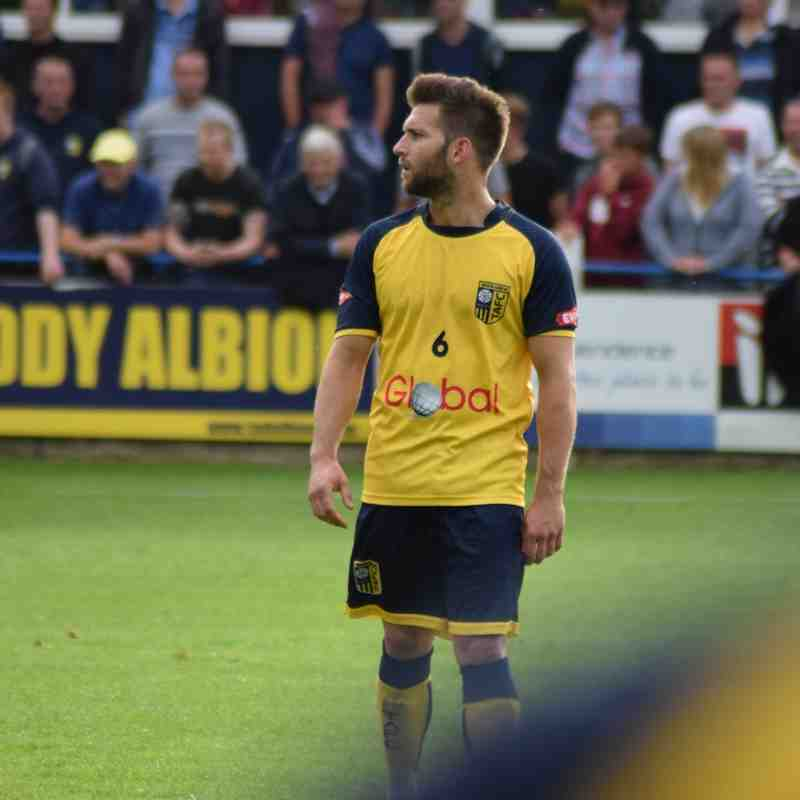 Tadcaster Albion 0 Vs. 2 Farsley Celtic