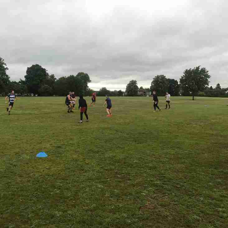 A Second Week of Touch Rugby