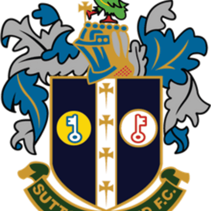 Sutton United To Visit The Brow
