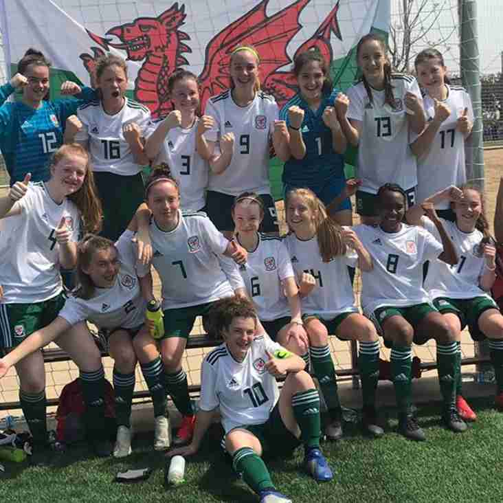 Wales U15's Finish Runners Up at Home Nations Tournament