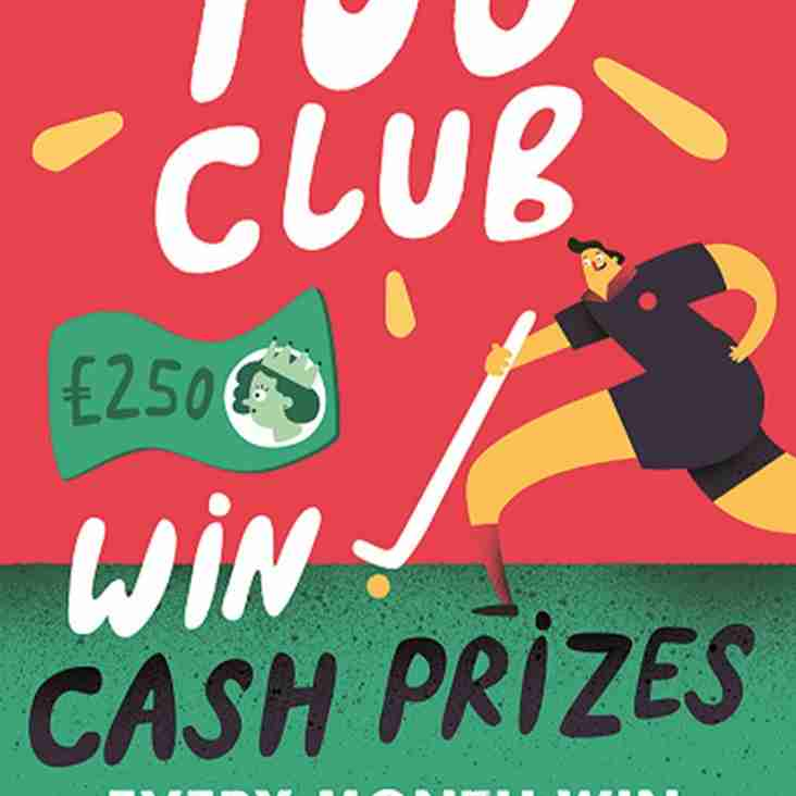 100 Club winners for May
