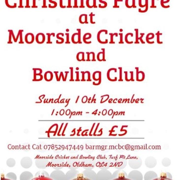 Christmas Fayre 10th December - Invitation to Stallholders<