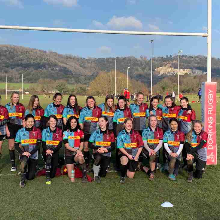 Girls Rugby at Quins
