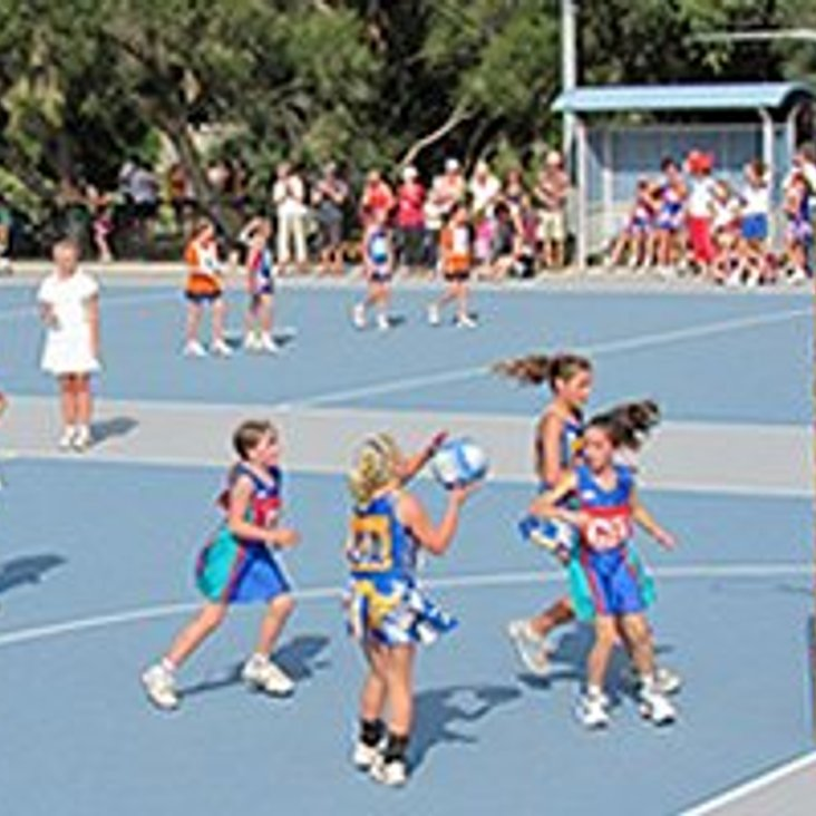 Club Netball Training for Years 3 - 6<