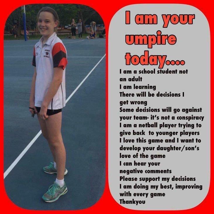 Junior Umpires<