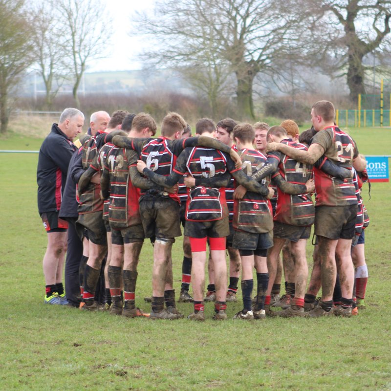 Oundle U16's travel to Kesteven RFC  and come off second best