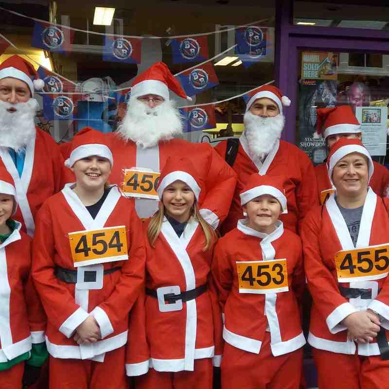Aylesbury's Santa Dash