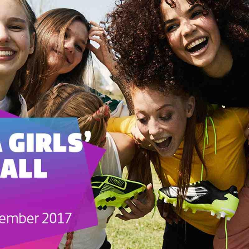 FA Girls' Football Week Nov 2017