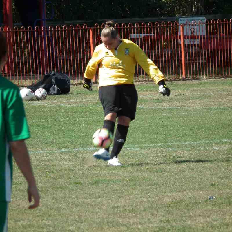 Aylesbury United Ladies Vs Penn & tylers Ladies Friendly 2/9/18