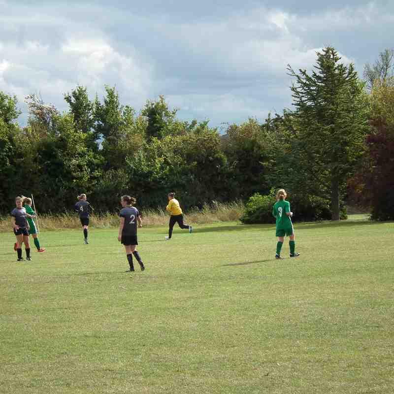 Oxford Brookes vs Aylesbury United Ladies 30/9/18