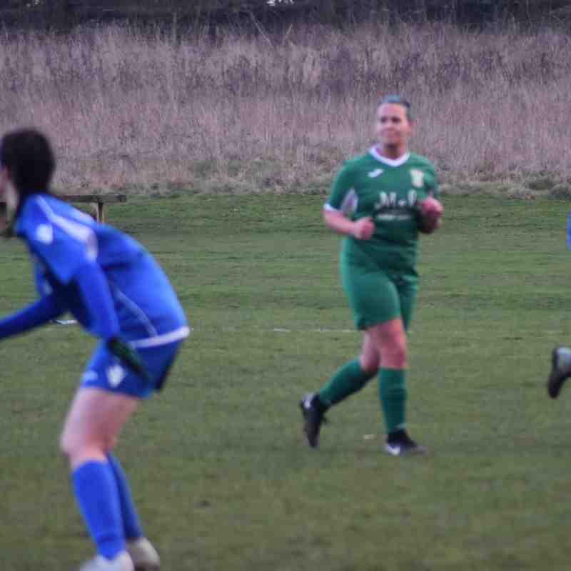 Aylesbury United Ladies vs Stonesfield Strikers Ladies Sunday 20/1/19