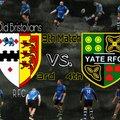 1st Team lose to Old Bristolians III 30 - 6