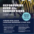 Launching Oxfordshire Over 35s Summer Sixes