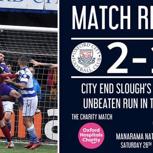 Report - Oxford City 2-1 Slough Town