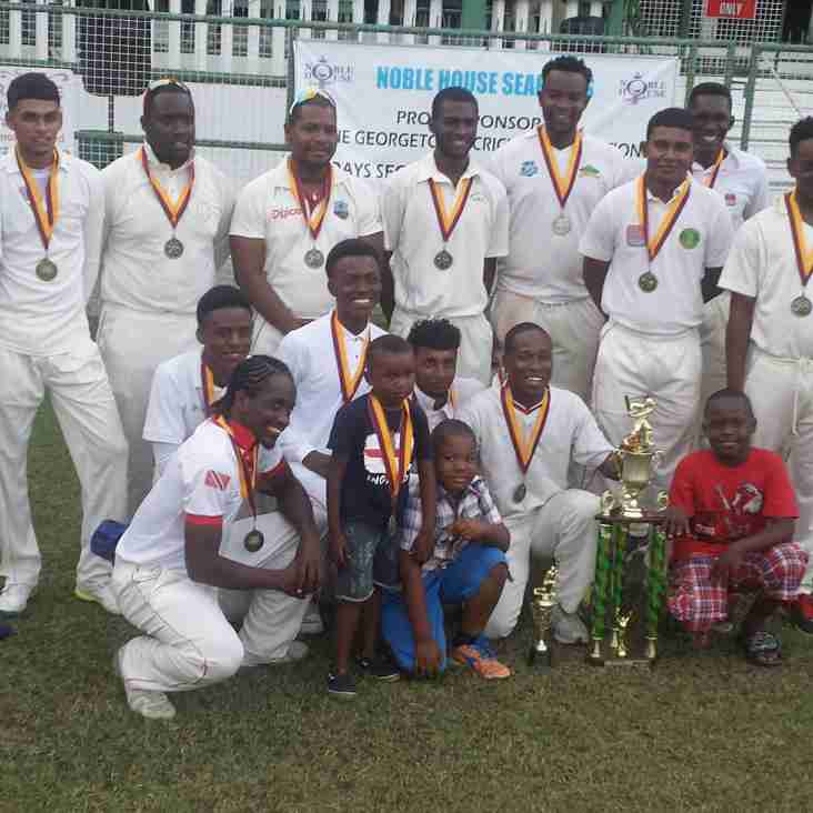 GCA – NOBLE HOUSE SEAFOODS 2ND DIVISION 2-DAY COMPETITION FINAL MATCH REPORT – SATURDAY 1ST & SUNDAY 2ND APRIL 2017