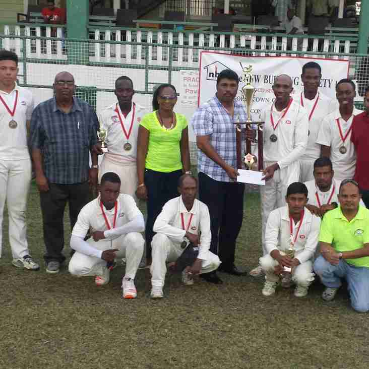 GCA – NEW BUILDING SOCIETY 2ND DIVISION 40-OVERS COMPETITION FINAL MATCH REPORT – SATURDAY 22ND APRIL 2017