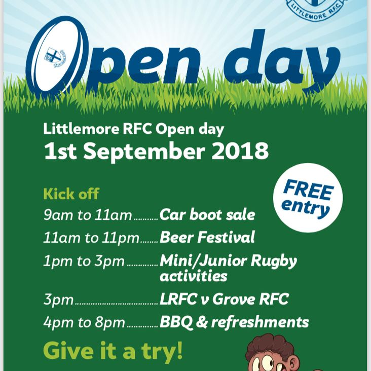 Littlemore RFC open day<