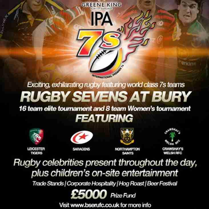 Bury St Edmunds Greene King IPA 7's Tournament
