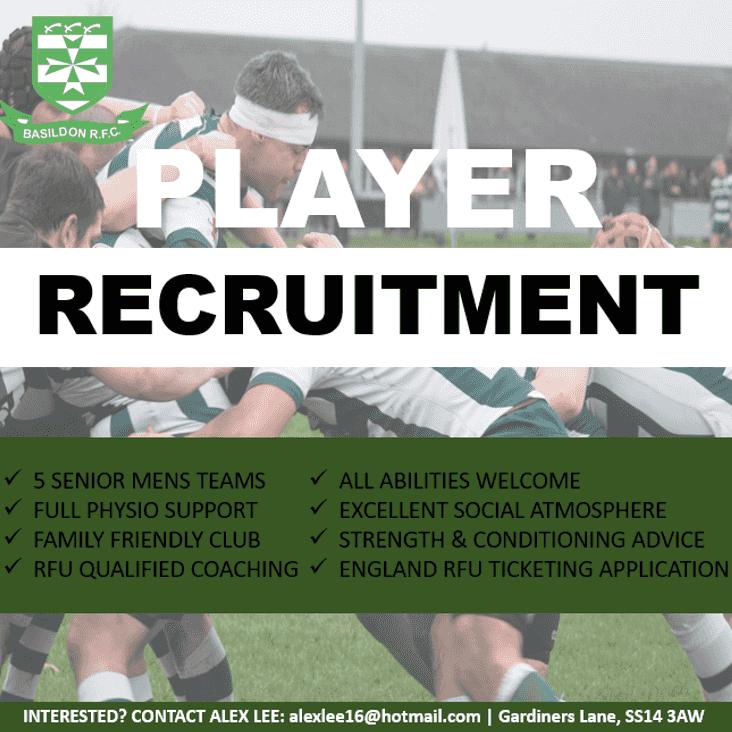 Player Recruitment for Season 2019/20