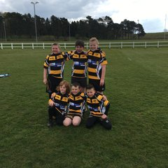 U10s Greatful for Sponsorship from Milcroft Veterinary Group.