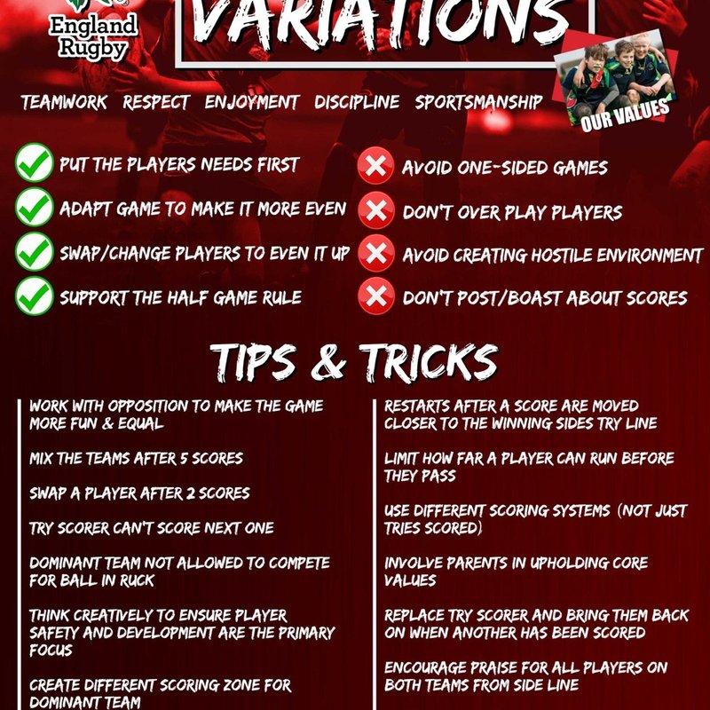 Game Variations
