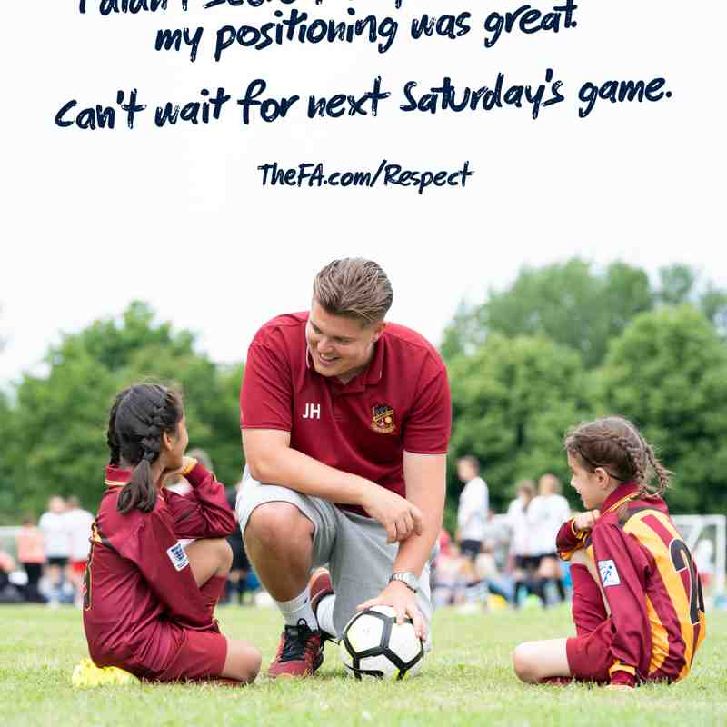 We only do positive - FA respect campaign