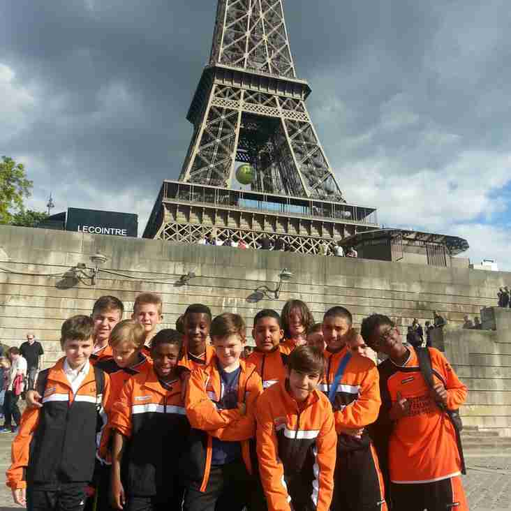 Pits U13's in Paris for weekend tournament