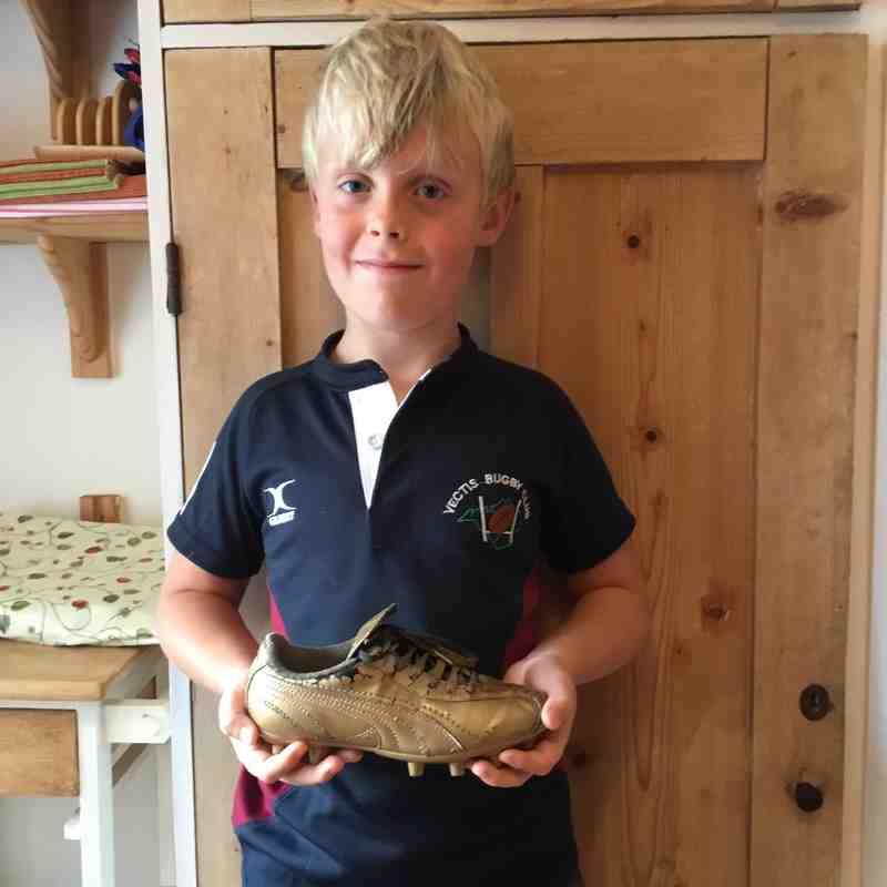 Under 8's Golden Boot