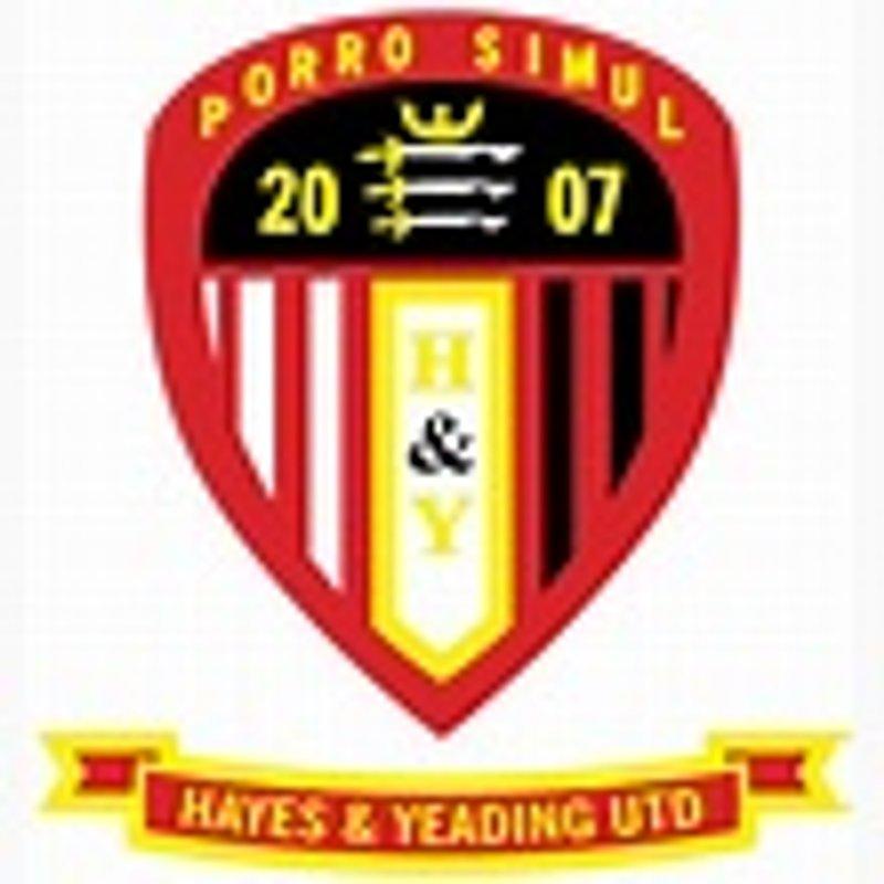 Match Report - Hayes & Yeading Utd  (away) - Pre-season Friendly