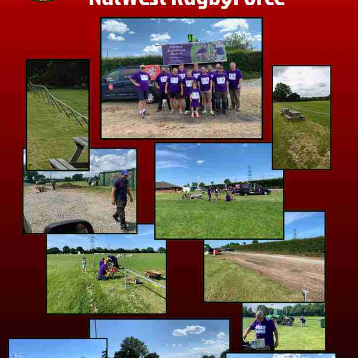 Thank you all for NatWest RugbyForce Weekend
