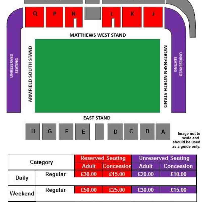 RFL Events - Seating Plans