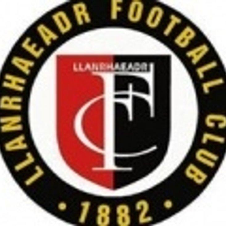 Preview : Llanrhaeadr v Flint, Sat 22nd Sept, 2-30pm<