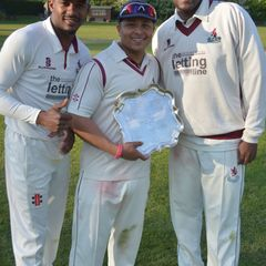 Middlesex Clubs Trophy 2016 Final Winners