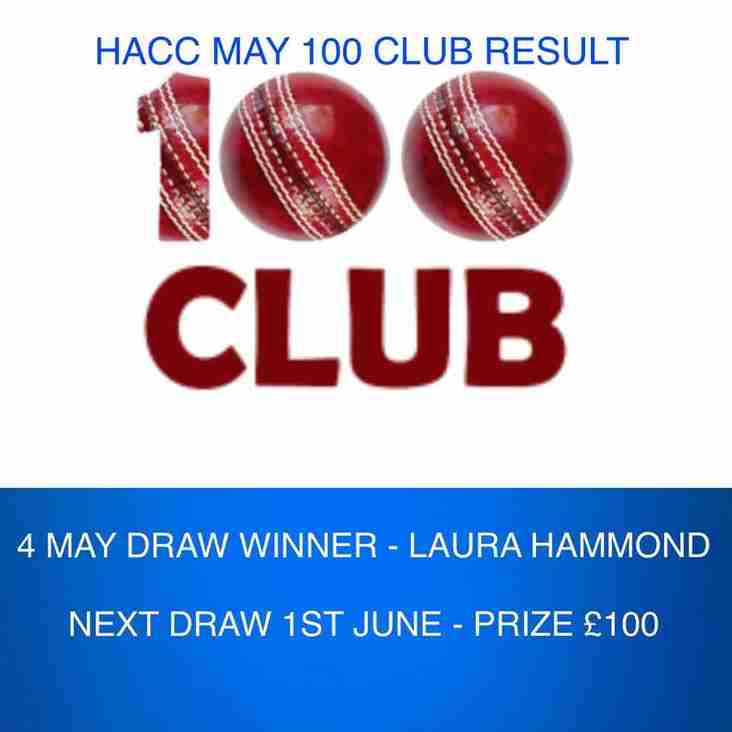 100 Club May result