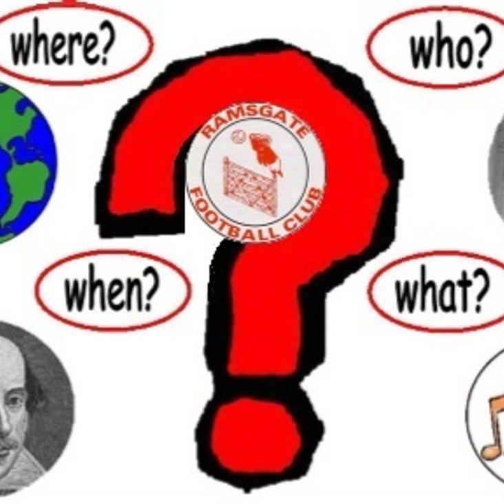 20 Jul: Quiz Night Tonight<