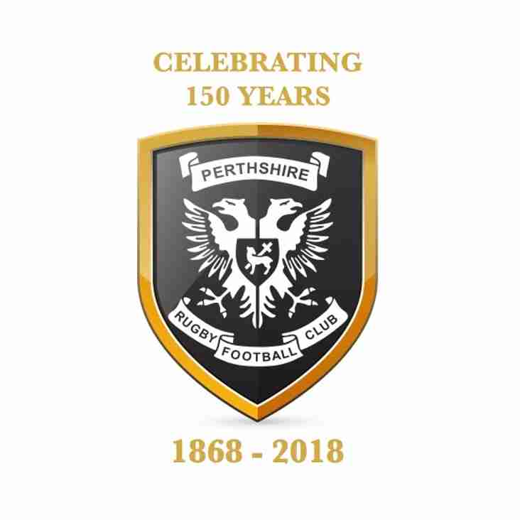Perthshire Rugby Celebrates 150 Years Since 1st Game