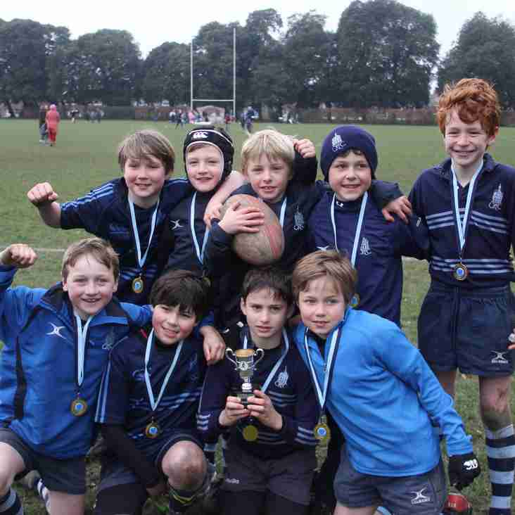 Under 9s victorious at West Sussex Championship!